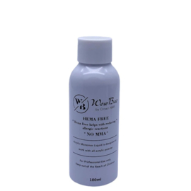 WowBao Nails HEMA vrij acryl liquid monomer 100ml