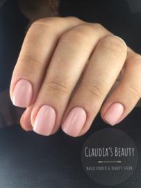 Combi manicure/ E-manicure + versteviging met Rubberbase  zat. 6 Juni olv Claudia Dourado