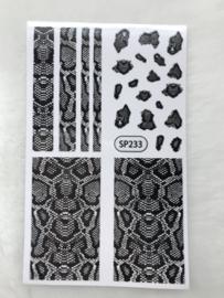 Nagelsticker Slangenprint SP233
