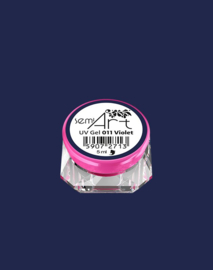 Semilac SemiArt nailart gel 011 Violet