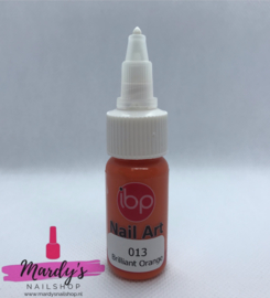 IBP Nail Art Paint Verf #013 Brilliant Orange