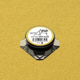 Semilac SemiArt nailart gel 004 Gold