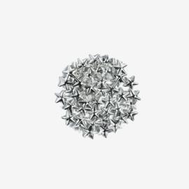 Semilac nailart studs ster zilver 761 50pcs