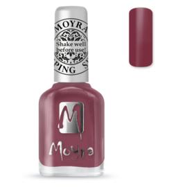 Moyra Stempel Nagellak sp38 Cashmere Bordeaux