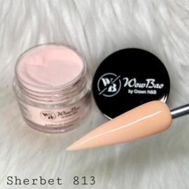 WowBao Nails acryl poeder color nr 813 Sherbet 28g
