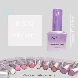 WowBao Nails Builder Gel BIB02 Milk Bath15ml