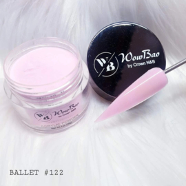 WowBao Nails acryl poeder nr 122 Ballet 28g