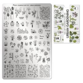 Moyra Stempel Plaat 105 Urban Gardening