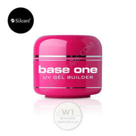 Silcare base one Bianco Naturale (naturel wit) gel 15g