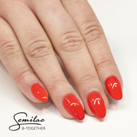 Semilac gelpolish 024 Vibrating Tomato  7ml