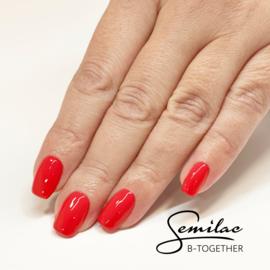 Semilac gelpolish 062 Poppy Red 7ml