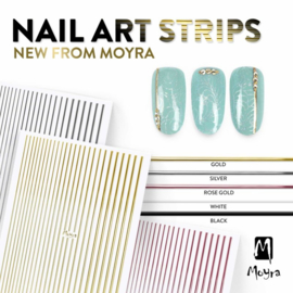 Moyra Nail Art Strip Zwart 05