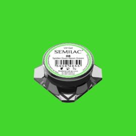 Semilac Spider Gum Gel 08 Neon Green
