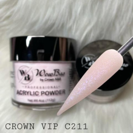 WowBao Nails acryl poeder shimmer 211 Crown VIP 112g