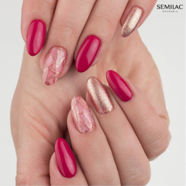 Semilac gelpolish 066 Glossy Cranberry 7ml