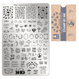 Moyra Stempel Plaat 109 Stamp By Me