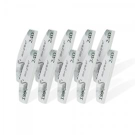 Mini nagelvijl 10x buffer maan 180/240 AbaGroup