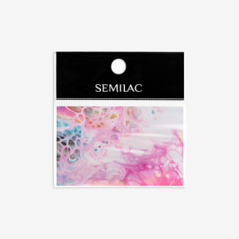 Semilac transfer folie 08 Rainbow Marble