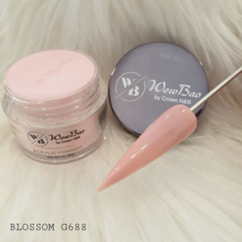 WowBao Nails acryl poeder nr G688 Blossom 28g