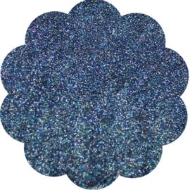 Artiglio glitter Claudia blauw 8gr.