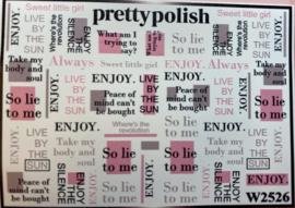 Pretty Polish | Slider | Waterdecal W2526