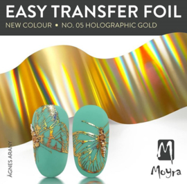 Moyra Easy Folie Holographic Gold 05