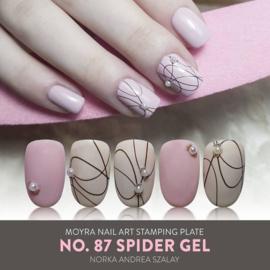 Moyra Stempel Plaat 87 Spider Gel