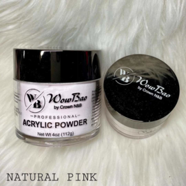WowBao Nails acryl poeder Natural Pink 56g