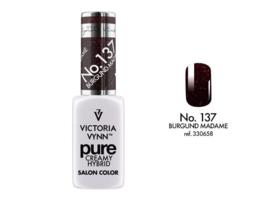 Victoria Vynn Pure Gelpolish 137 Burgund Madame