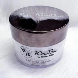 WowBao Nails acryl poeder Crystal Clear 224g