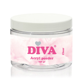 Diva Acryl Poeder Clear 250 gram