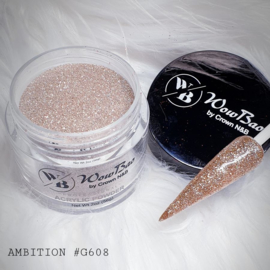 WowBao Nails acryl poeder Glitter nr G608 Ambition 28g