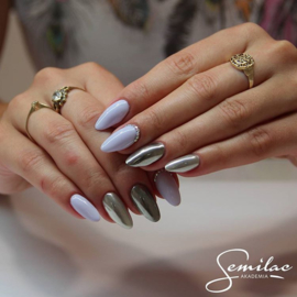 Semilac gelpolish 127 Violet Cream  7ml
