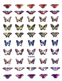 Butterfly Nail art Stickers 11 Z-D3703