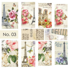 Moyra Water Transfer Nailart Sticker 03