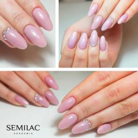 Semilac gelpolish 057 Nude Beige Rose  7ml
