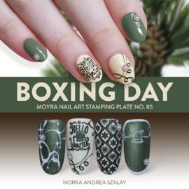 Moyra Stempel Plaat 85 Boxing Day