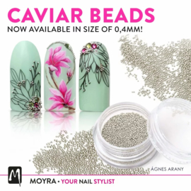 Moyra Caviar Beads Gold 0,4mm