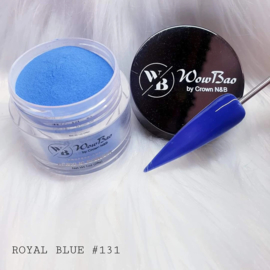 WowBao Nails acryl poeder nr 131 Royal Blue 28g