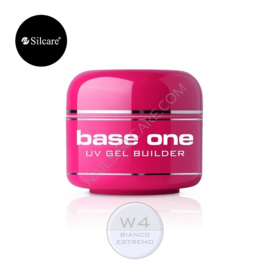 Silcare base one Bianco Estremo (spierwit) gel 15g