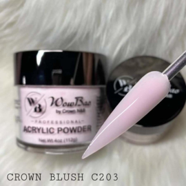 WowBao Nails acryl poeder 203 Crown Blush 56g