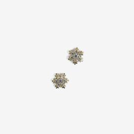 Semilac nailart Sneeuwvlokjes goud 778 2pcs