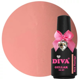 Diva Gellak Pink Flamingo 15 ml