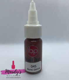 IBP Nail Art Paint Verf #045 Burnt Sienna