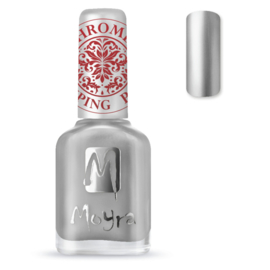 Moyra Stempel Nagellak sp25 Chrome Silver