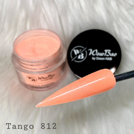 WowBao Nails acryl poeder Shimmer nr 812 Tango 28g