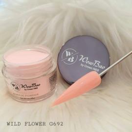 WowBao Nails acryl poeder nr G692 Wild Flower 28g