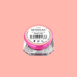Semilac Sculpture Gel 4D Peach 591