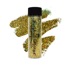 World of Glitter - Cannes Gold Supercharged Holographic Nail Glitter