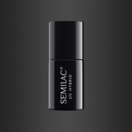 Semilac gelpolish 108 Metallic Black 7ml